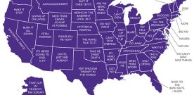 Today's Electorial Map of the USA