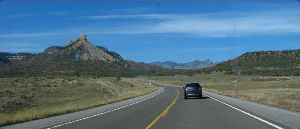 בין ניו מקסיקו לקולורדו