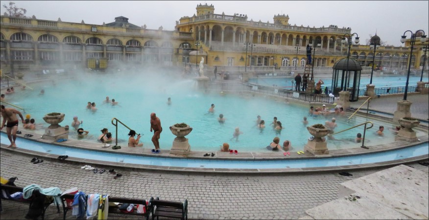 בודפשט: יום 4 - מרחצאות סצ'ני וחזרה למקומות שאהבנו