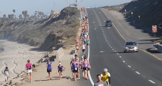 'Journey of a Lifetime' 3-day, 50-mile Walk Begins in Carlsbad