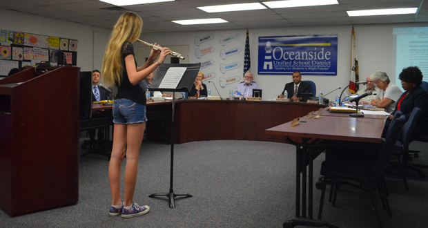 Jefferson Middle School Student Accepted into California All State Honor Band
