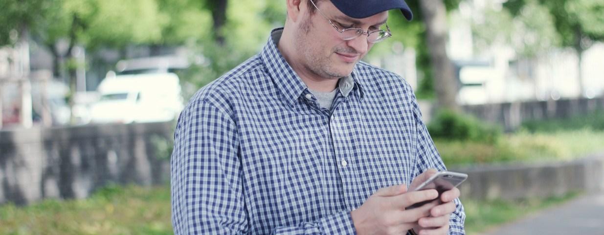 Sascha Pallenberg beim Periscope-Stream