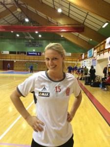 Monica Iversen er en av spillerne som står for rutinen i Østsiden laget