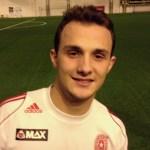 Fatos Berisha scoret det første målet for Øssia i årets Romjulscup