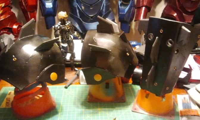 Finished Shoulder Bells