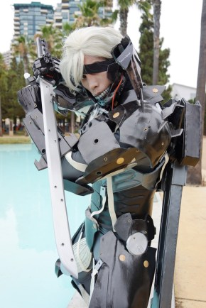 Raiden (Metal Gear Rising) by Andrew Makes Things Photo by Eurobeat Kasumi