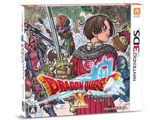 dragon quest x 3ds Square Enix anuncia Dragon Quest X para Nintendo 3DS