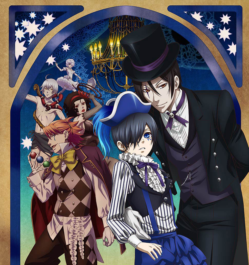 Black butler book of circus opening downloaded