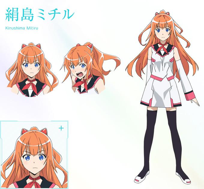 Good Anime Character Design : New plastic memories visuals characters designs