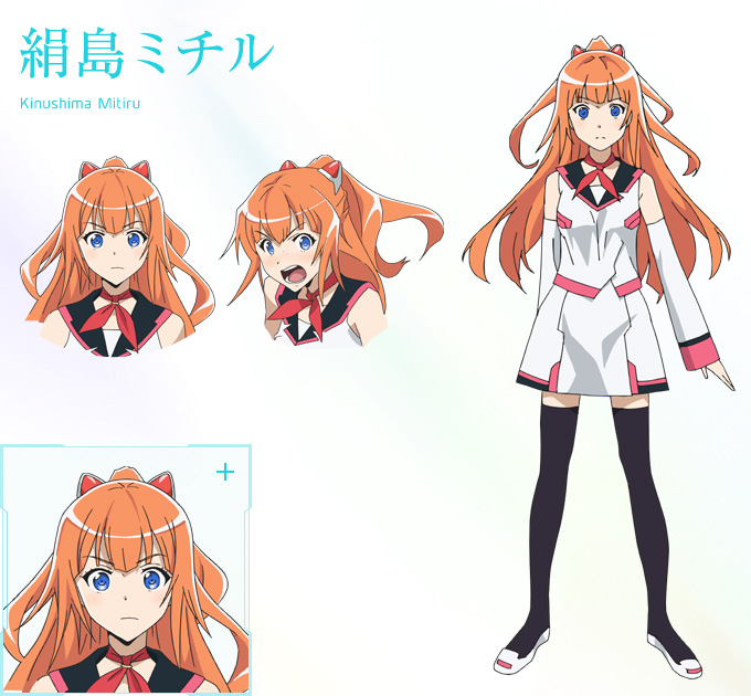 Good Character Design Anime : New plastic memories visuals characters designs