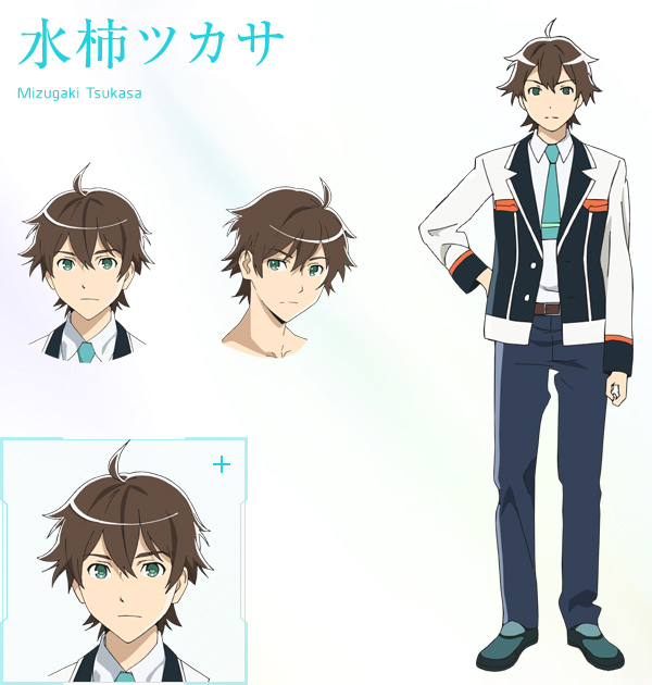 Anime Boy Character Design : New plastic memories visuals characters designs