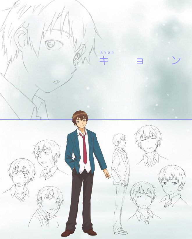Character Design Quarterly Issue 02 : New disappearance of nagato yuki chan anime magazine