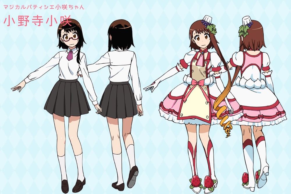 Character Design Nisekoi : Nisekoi season magical girl onodera episode visual