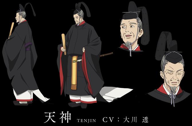Noragami-Aragoto-Anime-Character-Designs-Tenjin