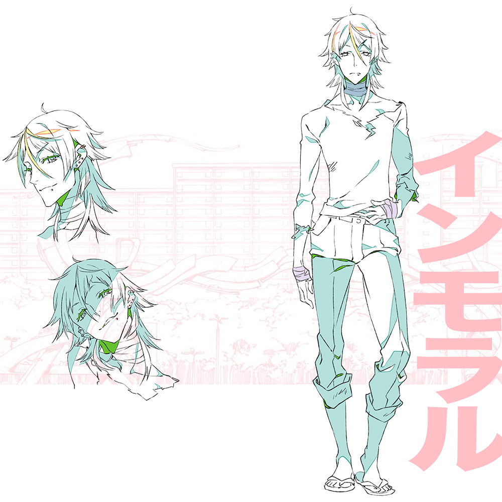 Character Design Anime Studio Story : Kiznaiver character designs yoshiharu hisomu