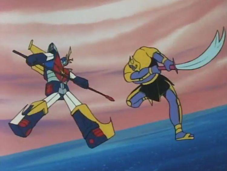Daitarn 3 vs Megaborg 2
