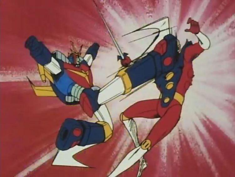 Daitarn 3 vs Megaborg