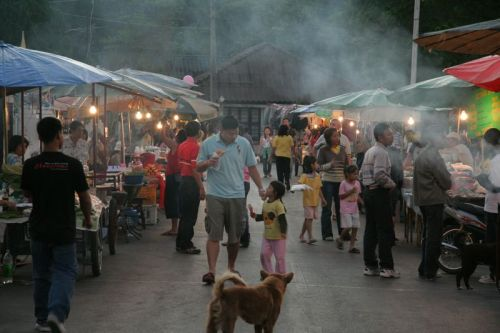 Night Market in Mae Hong Song