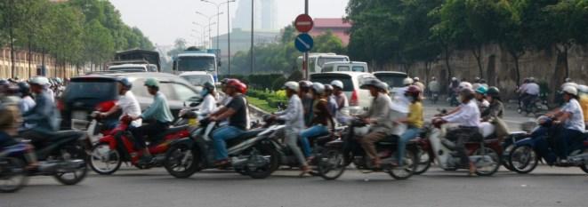 Commuting in HCMC
