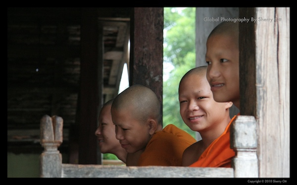 Monks Laos