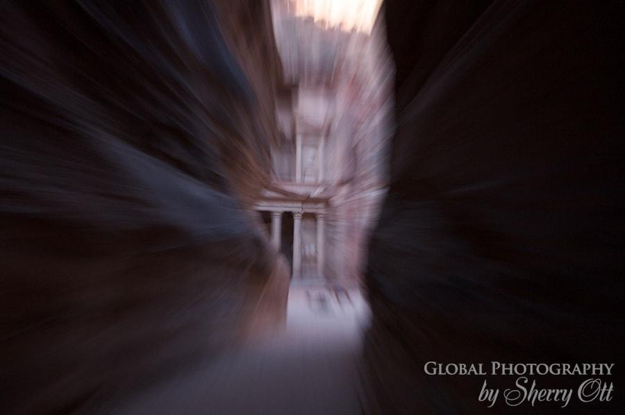 Petra blurry