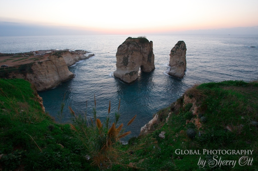 Pigeon Rock Beirut Lebanon