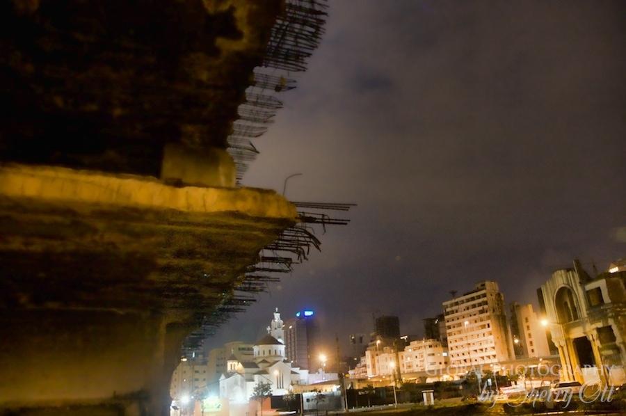 Beirut at night