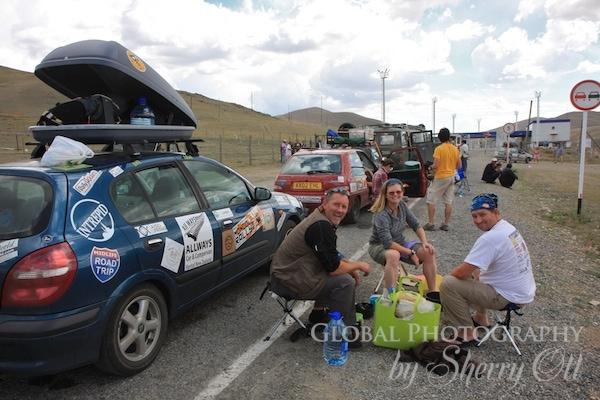 mongol rally border