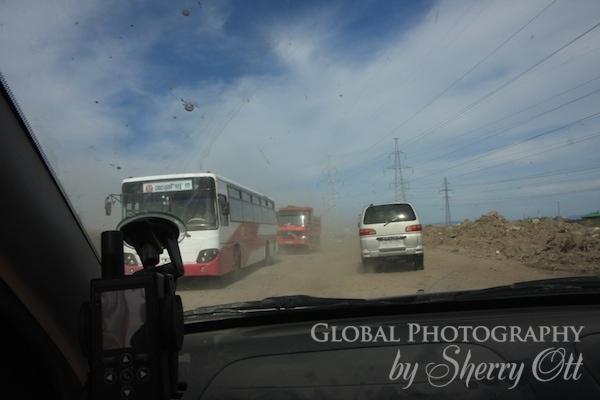 ulaanbaatar roads