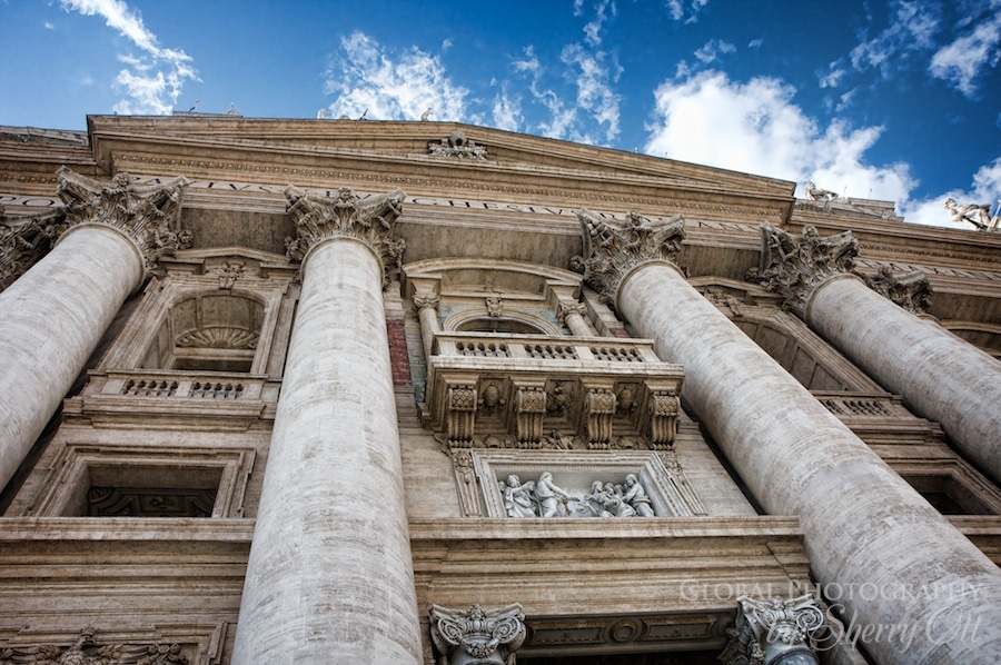 St. Peter's Basilica columns