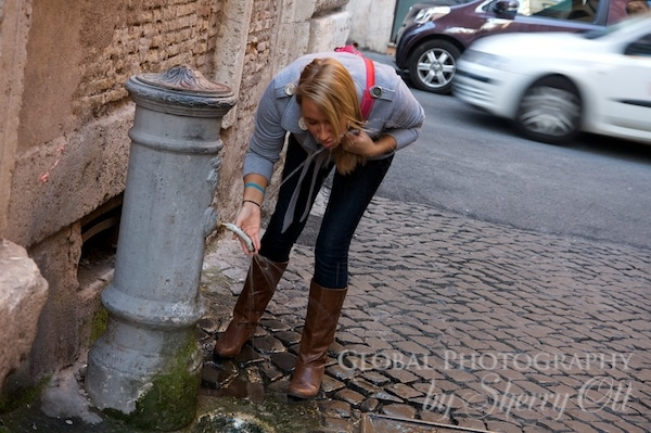 rome water fountains