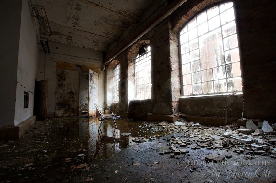 Abandoned paper mill on go 2 know tour
