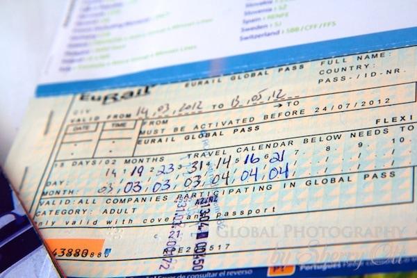 handwritten ticket