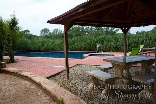 My villa pool