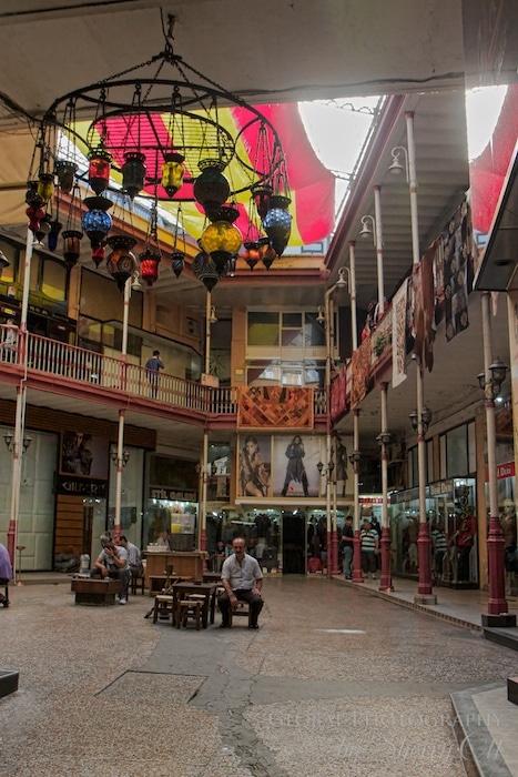 A quiet corner of the grand bazaar