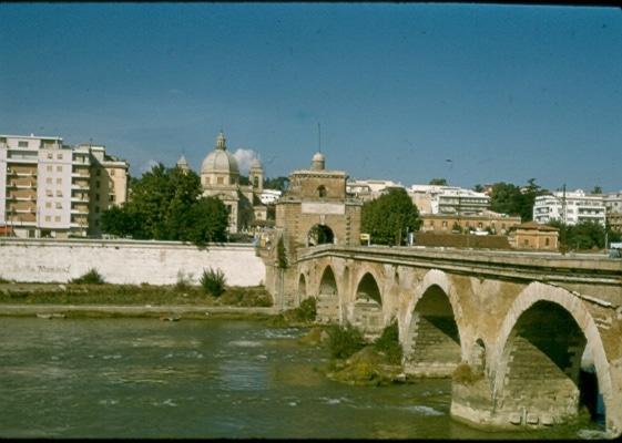 Tiber River 1956