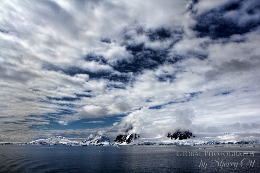 Cloudscape Antarctica Pictures