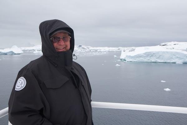 Dad in his Canada Goose Expedition Coat