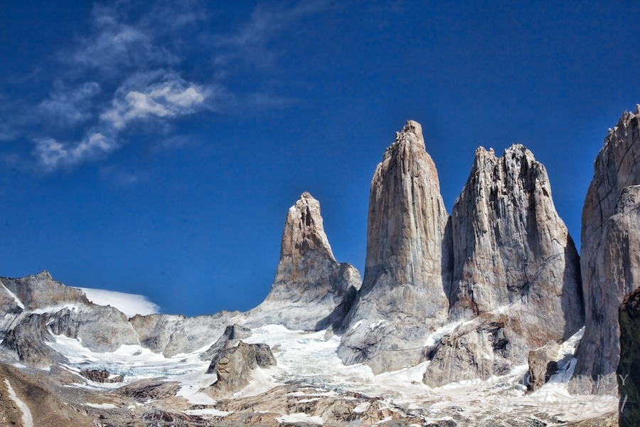 The towers of Torres del Pain