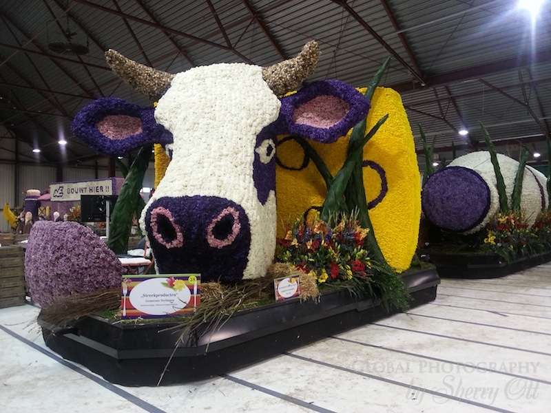 flower parade float