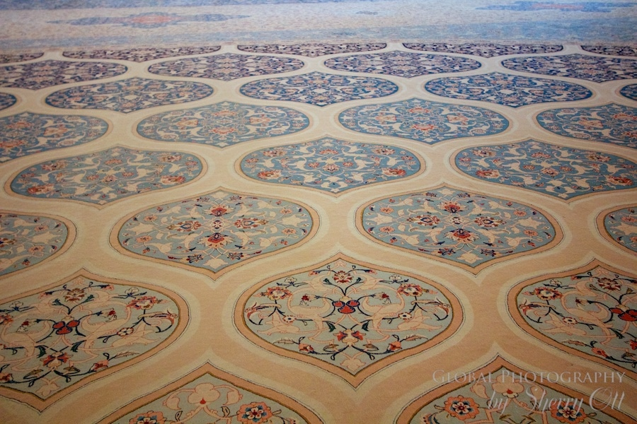 Mosque carpet oman