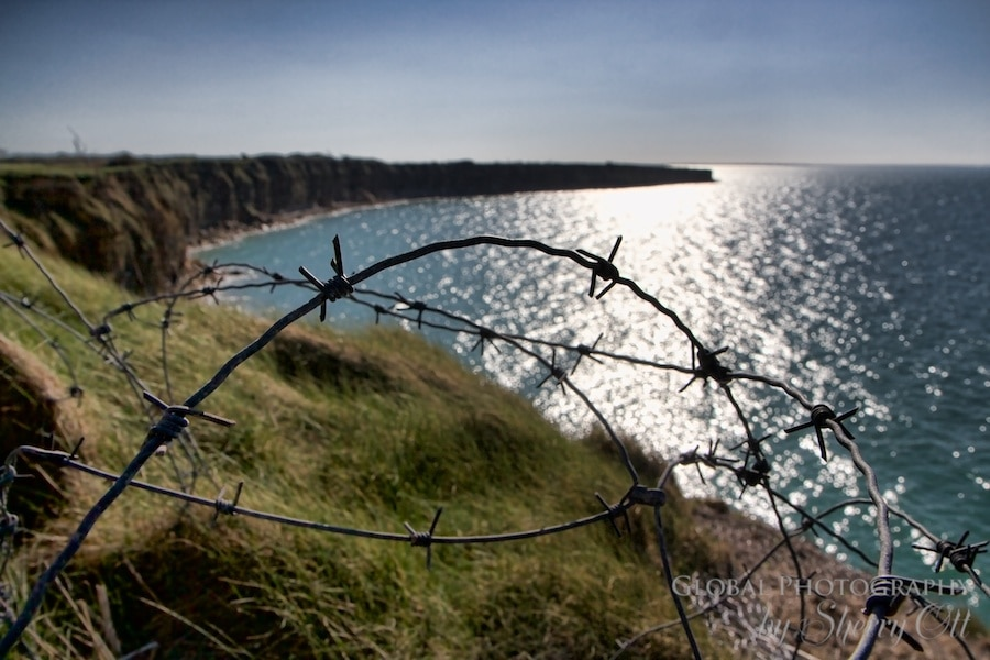 Pointe du Hoc Normandy WWII