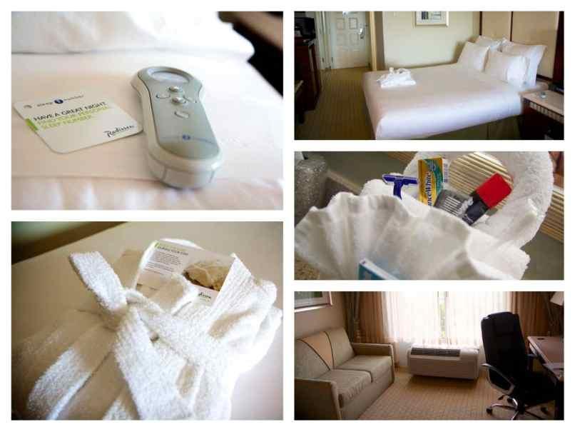 hotel comforts