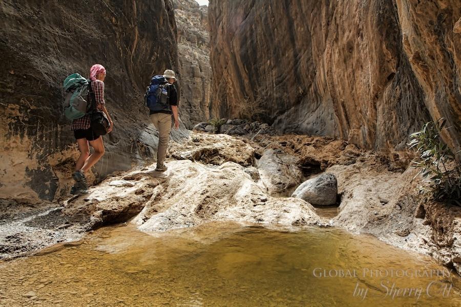 Wadi Hiking Oman
