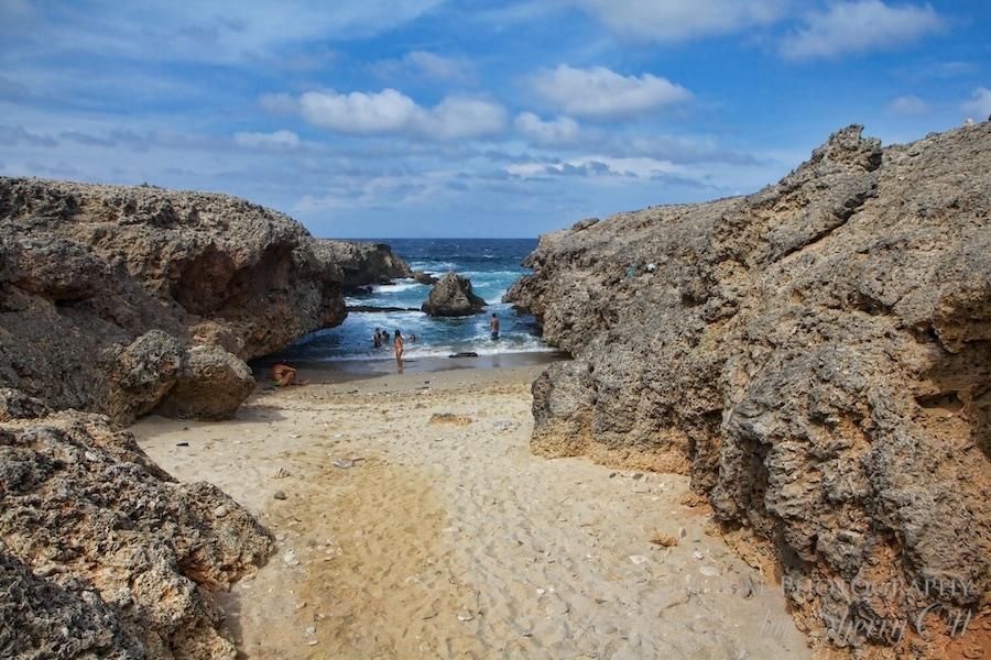 private beach aruba