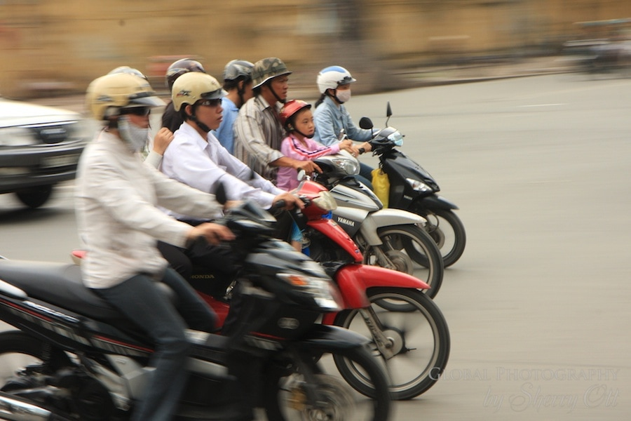 HCMC panning photography
