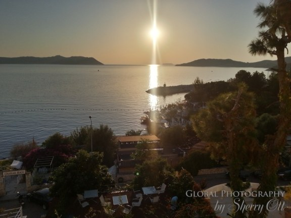 Sunset in Kas turkey