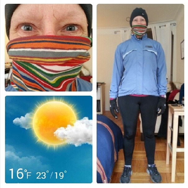 winter running nyc