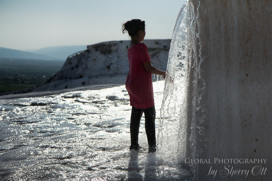 Pamukkale Turkey water