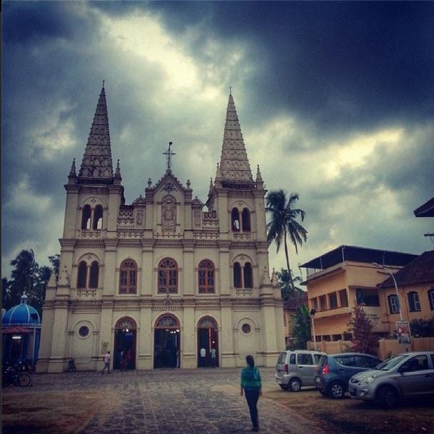 Santa Cruz Basilica Fort Kochin